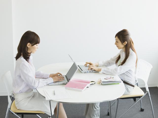 アデコ横浜支社に登録して証券会社で一般事務の仕事をした
